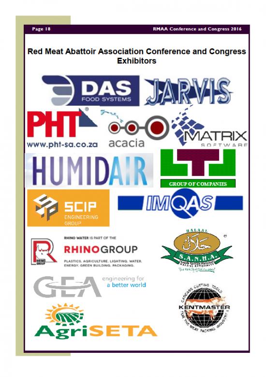 RMAA Conference 18