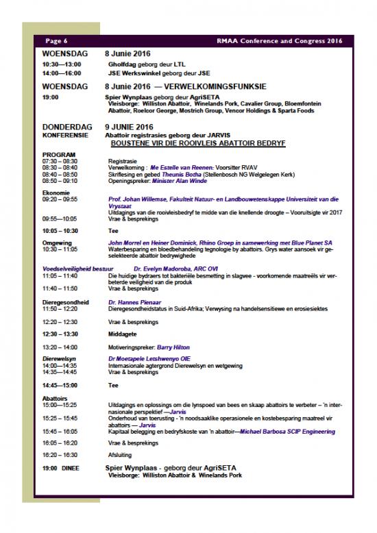RMAA Conference 6
